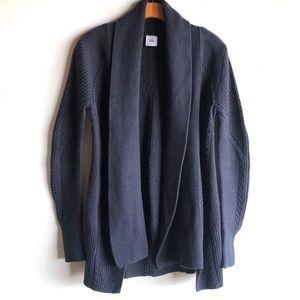 CAbi navy blue Countryside cardigan sweater